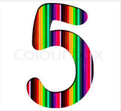 rainbow number five